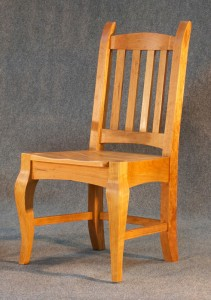 Cherry Brazos Dining Chair