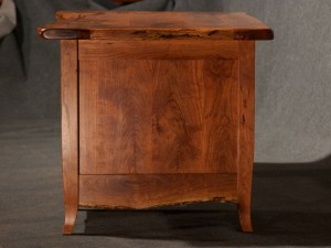 End View, Rustic Mesquite Desk