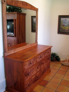 Mesquite Dresser and Mirror