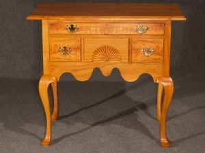 Black Cherry Lowboy - Front View