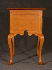 Black Cherry Lowboy - End View
