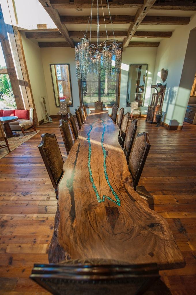 Mesquite Cabriole Leg Table